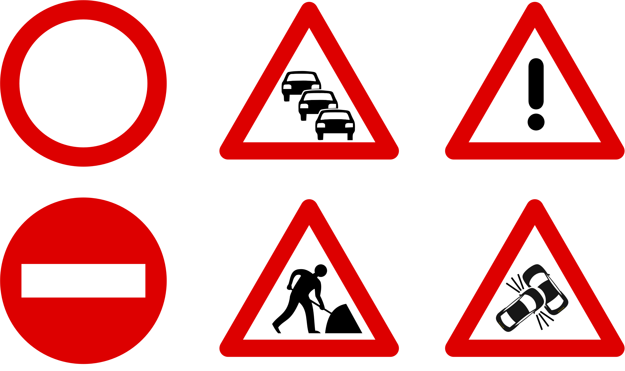 Road Trip, Road Sign Icon #38606