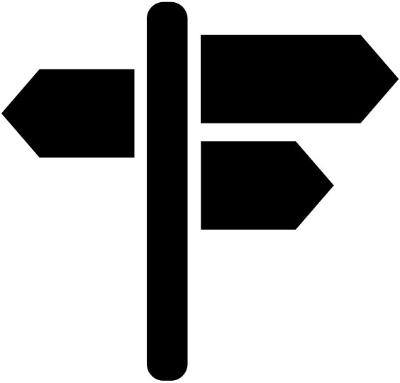 Road Trip, Road Sign Icon image #38606