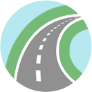 Road Map Svg Free image #14449