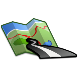 Free High-quality Road Map Icon image #14450