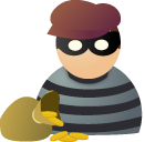 Robber Icon Png image #5023