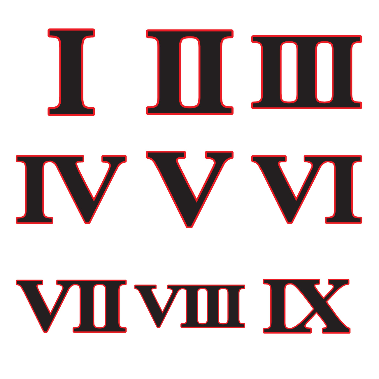 Roman Numerals Transparent Png Pictures Free Icons And