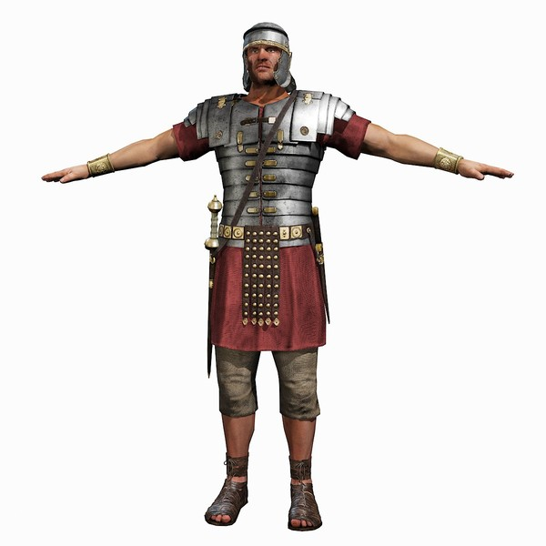 Roman Soldier Vector Png image #14634