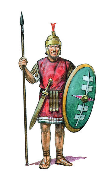 Svg Free Roman Soldier image #14625