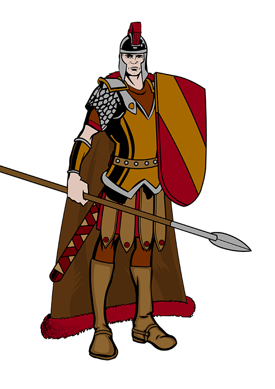 Svg Icon Roman Soldier image #14626
