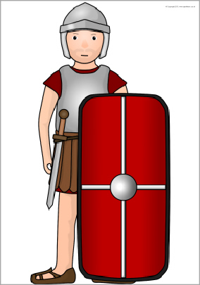 Roman Soldier Svg Free image #14627