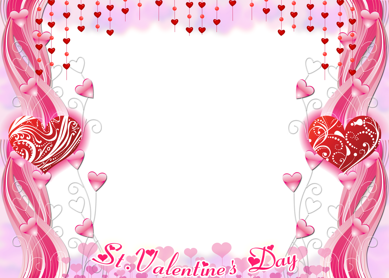 Romantic Frame Photo Png image #27892