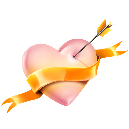 Romantic Heart Png image #27878