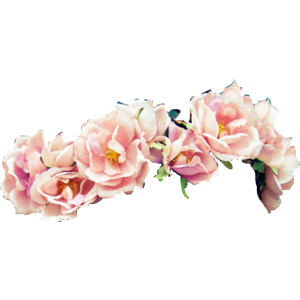 Rose Flower Crown Png image #42595