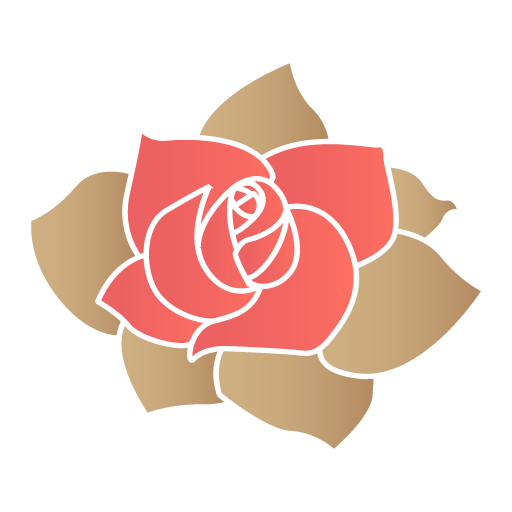 Rose flower Icon | Valentine Iconset | DesignBolts
