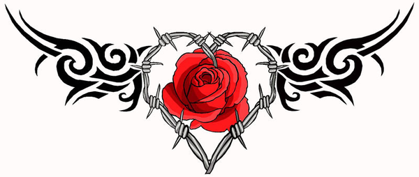 Rose Tattoos Png image #19394