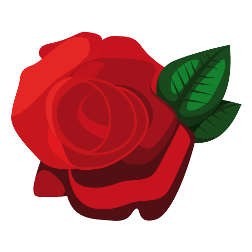 Vector Free Rose