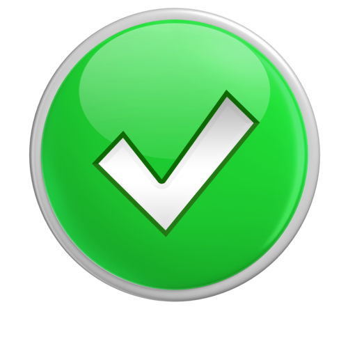 rouind checkmark png