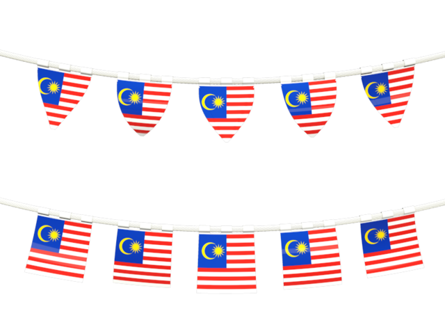 Rows Of Flags Malaysia image #41845