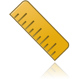 Ruler Image Free Icon 256x256, Ruler HD PNG Download