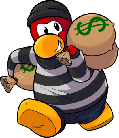 Run Robber Png image #5017