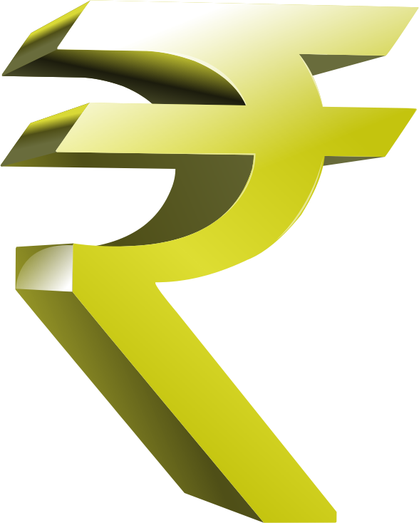Best Free Rupees Symbol Png Image