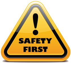 Safety First Clip Art image #18138