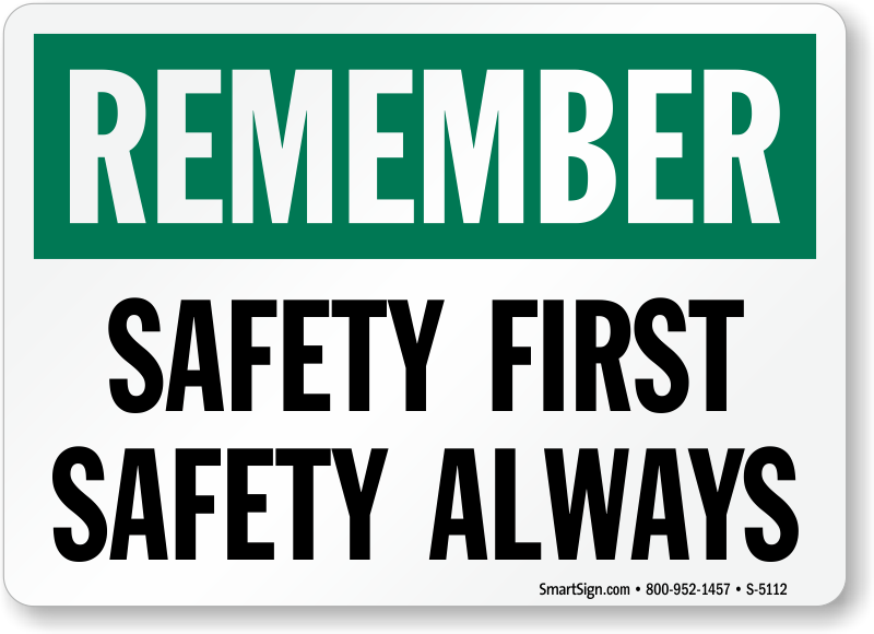 Safety First Png image #18150