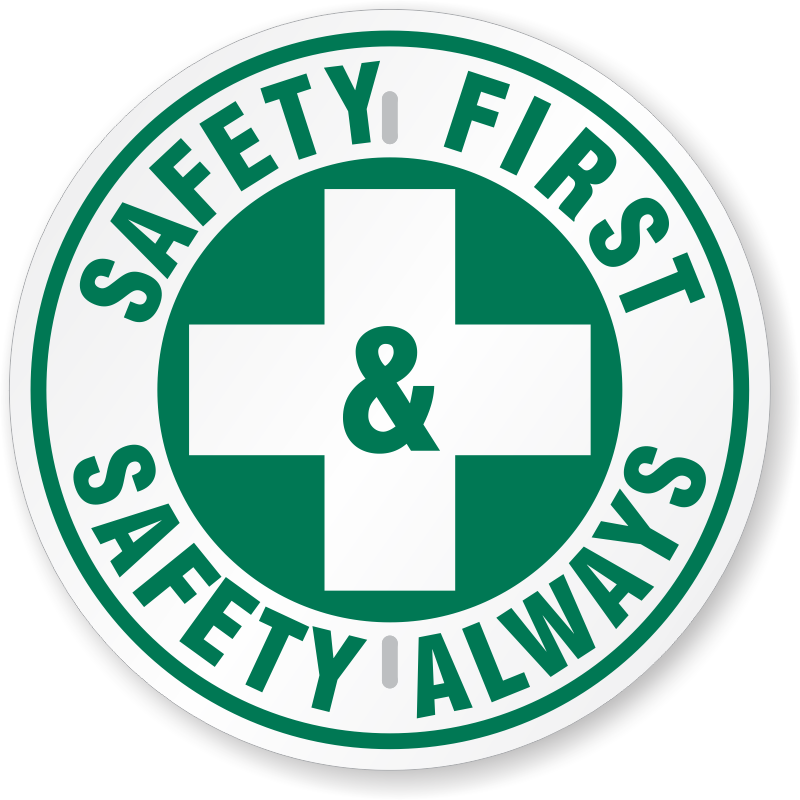 Download And Use Safety First Png Clipart image #18156