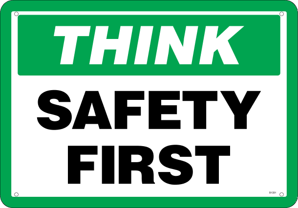 Safety First Png image #18158