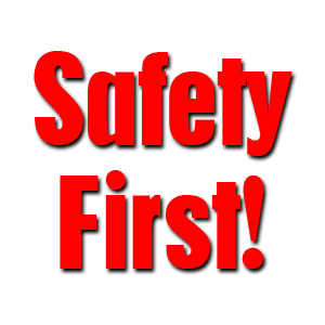 Use These Safety First Vector Clipart image #18143