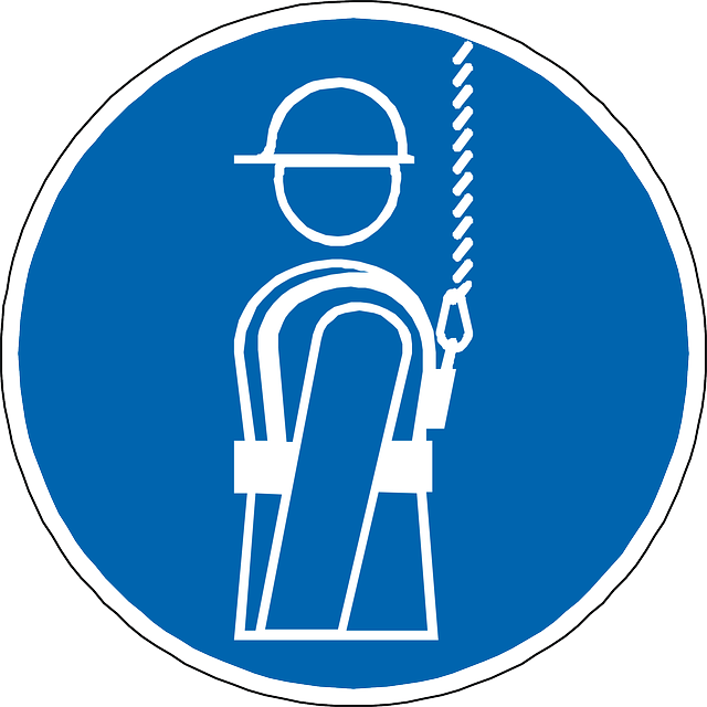 Safety Harness Vector Drawing image #37566