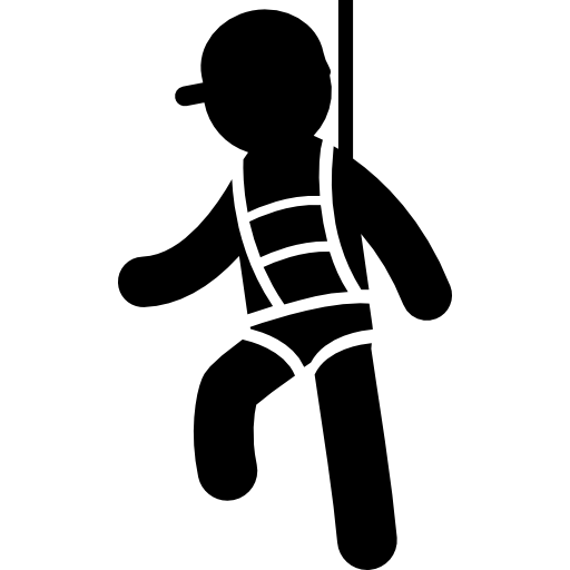 Vectors Download Safety Harness Free Icon image #37556