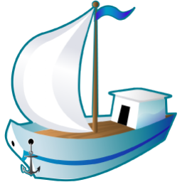 Sailing Ship Icon | Transport Iconset | Aha Soft image #346