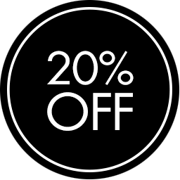 Sale Stickers PNG 20% OFF Label PNG