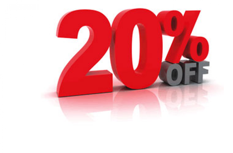 Sale Stickers PNG 20% OFF Label PNG image #37384