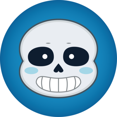 Sans Undertale Drawing Icon
