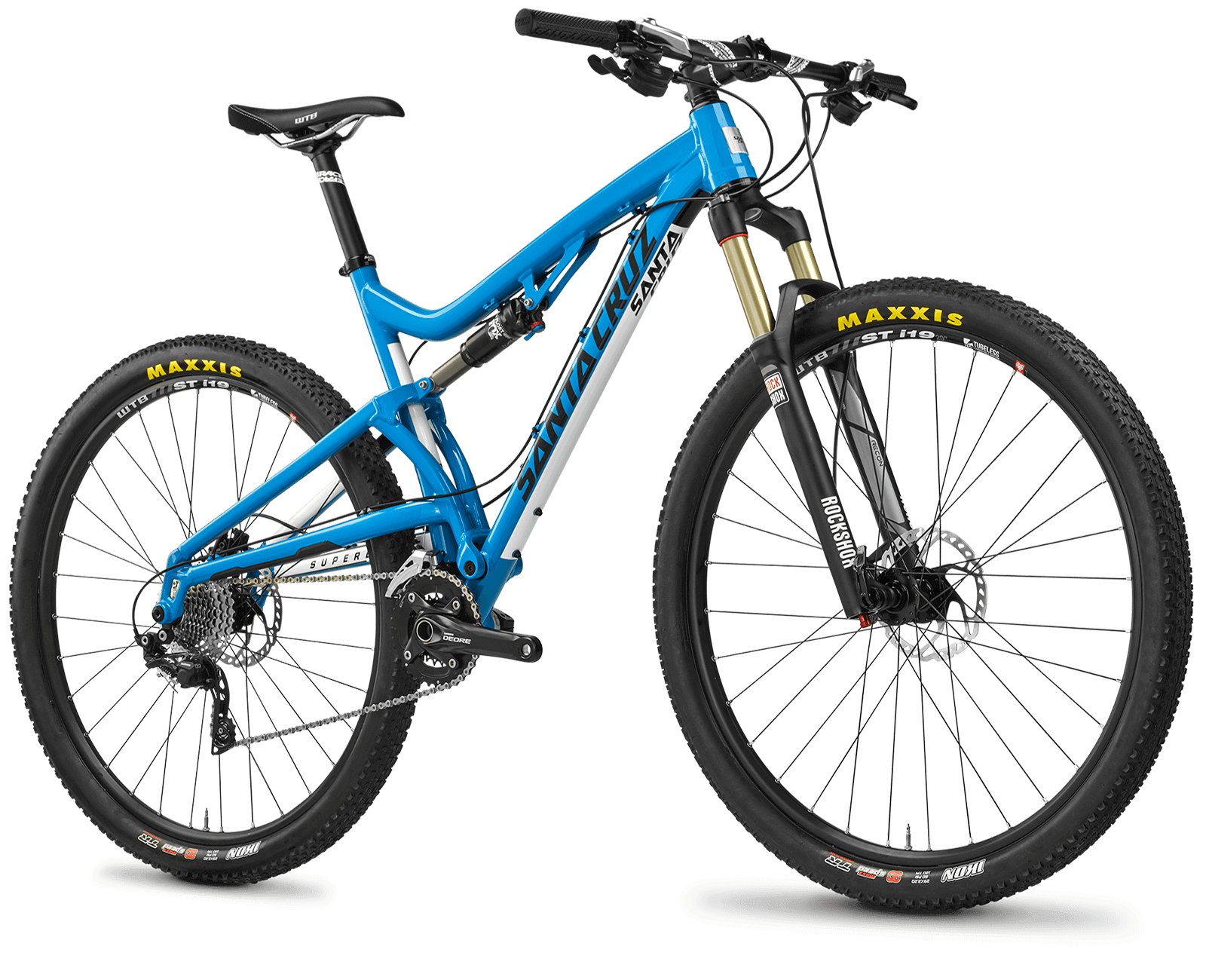 Santa Cruz Superlight, Blue Bike, Cycle Png image #45202