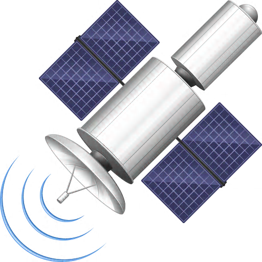 Library Satellite Icon