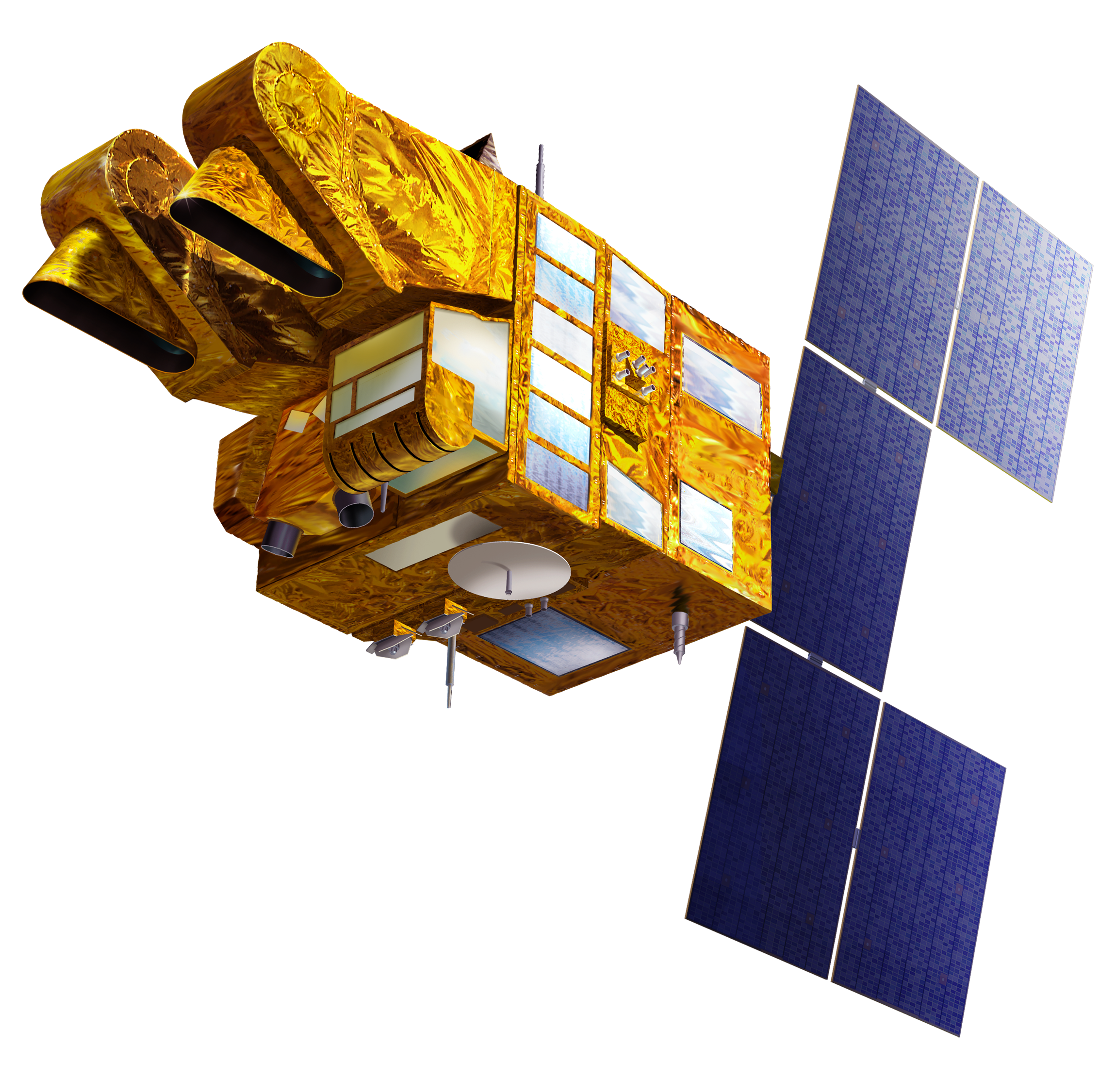 High Resolution Satellite Png Icon