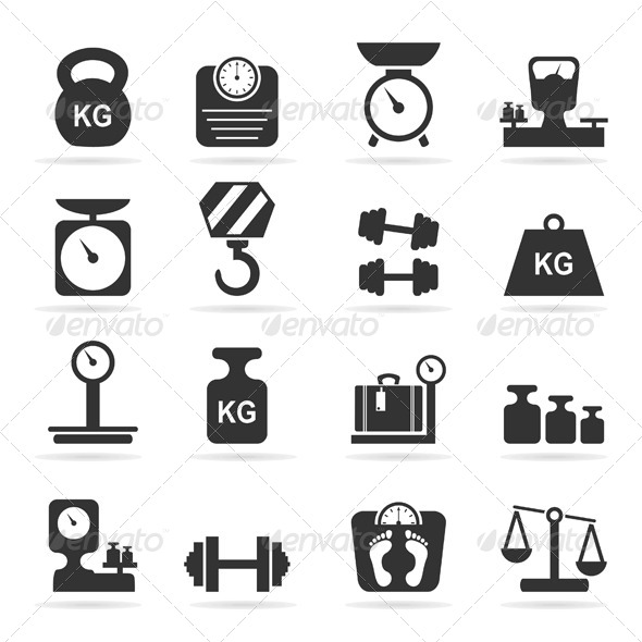 Scales Icons  Man made Objects Objects