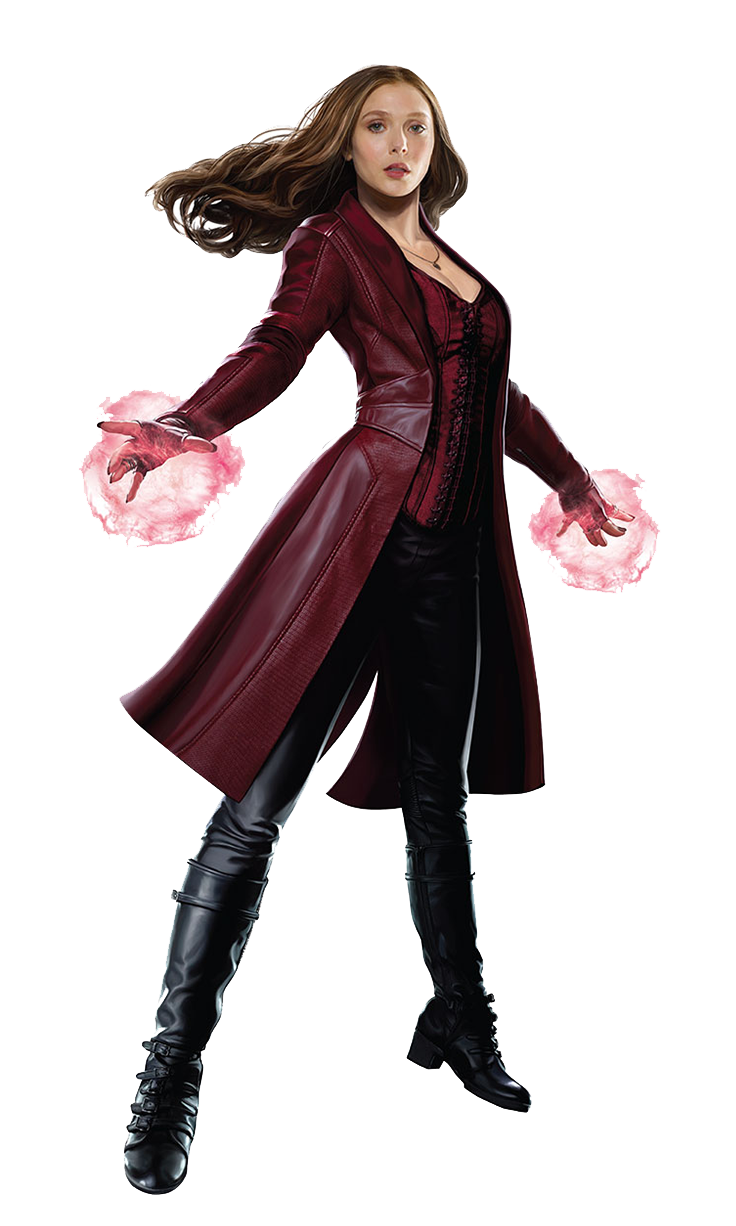 scarlet witch transparent