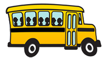 Icon School Bus Svg