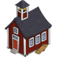 Icon School House Drawing 200x200, School House HD PNG Download