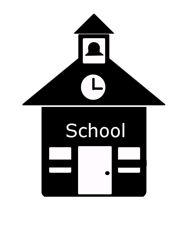 School House Vector Icon