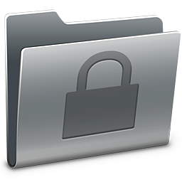 Secure folder icon png