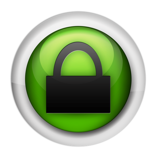 Security Lock Icon Green image #4993