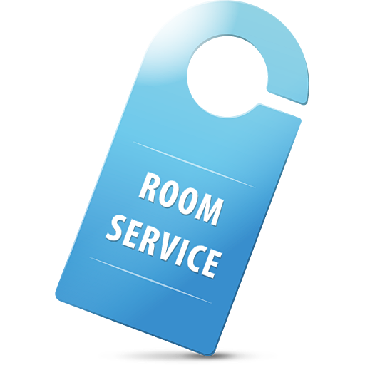 Service Icon Png Room service sign icon