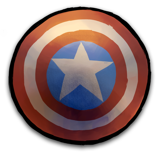 Shield Marvel Save Icon Format