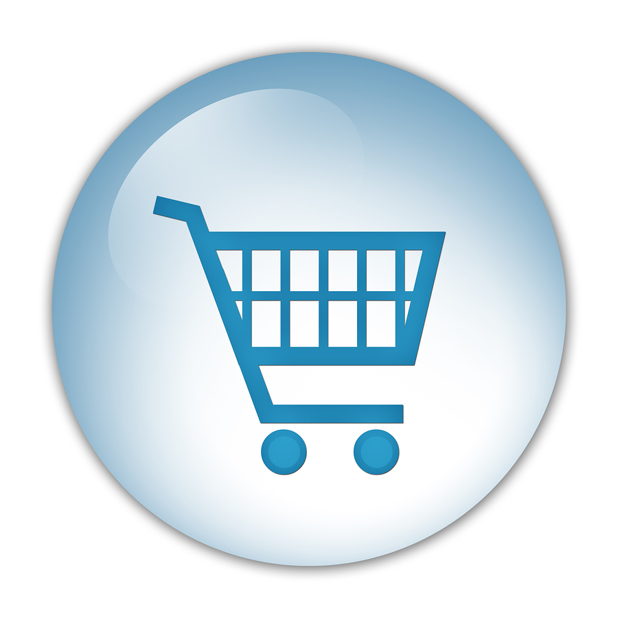 Vector Drawing Shopping Cart image #29086
