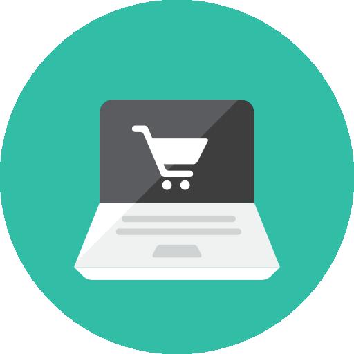 shopping, internet, free icon