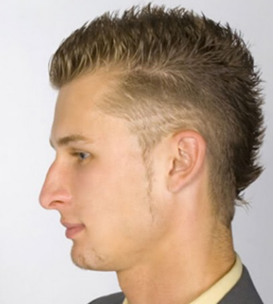Short Punky Men Hairstyle Png image #26113