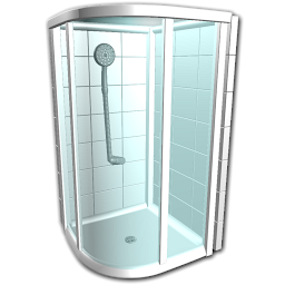 Shower Stall Icon image #40951