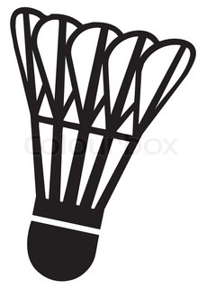 Shuttlecock Free Vector image #18364