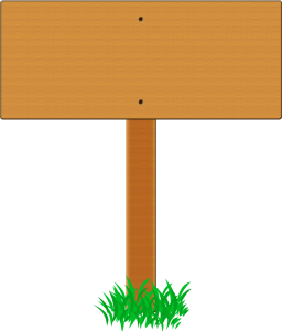 Signboard Png Clipart image #34066